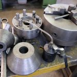 Lathe Chuck, Boring Bar and Live Centers