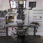 Super Max Milling Machine with Digital Readout with Air Chuck and Servos